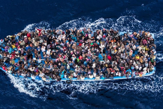 Appello di solidarietà a Saviano e vicinanza a uomini, donne e bambini che attraversano il Mediterraneo – Giuseppe Goffredo